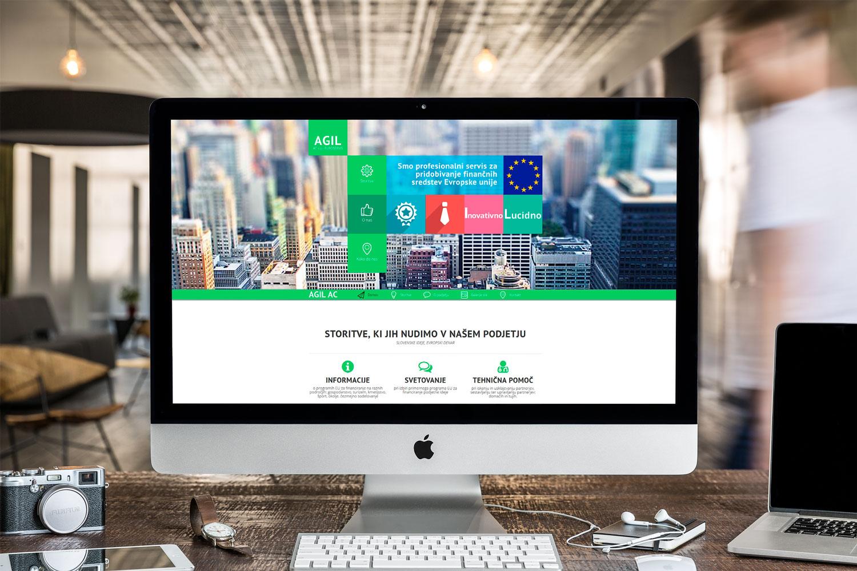 Oblikovanje in razvoj spletne strani