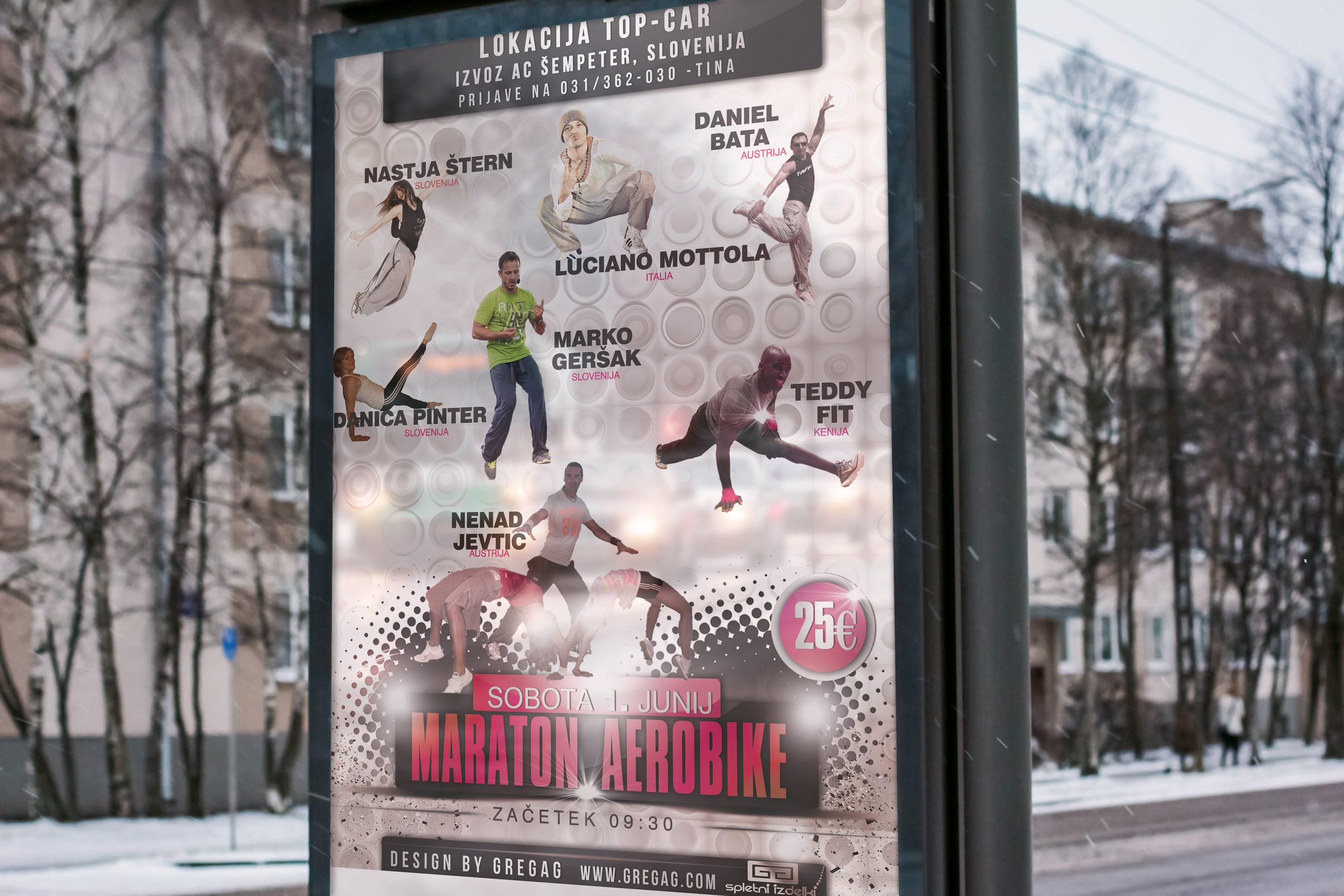 Izdelava reklamnega materiala za športno prireditev. 11