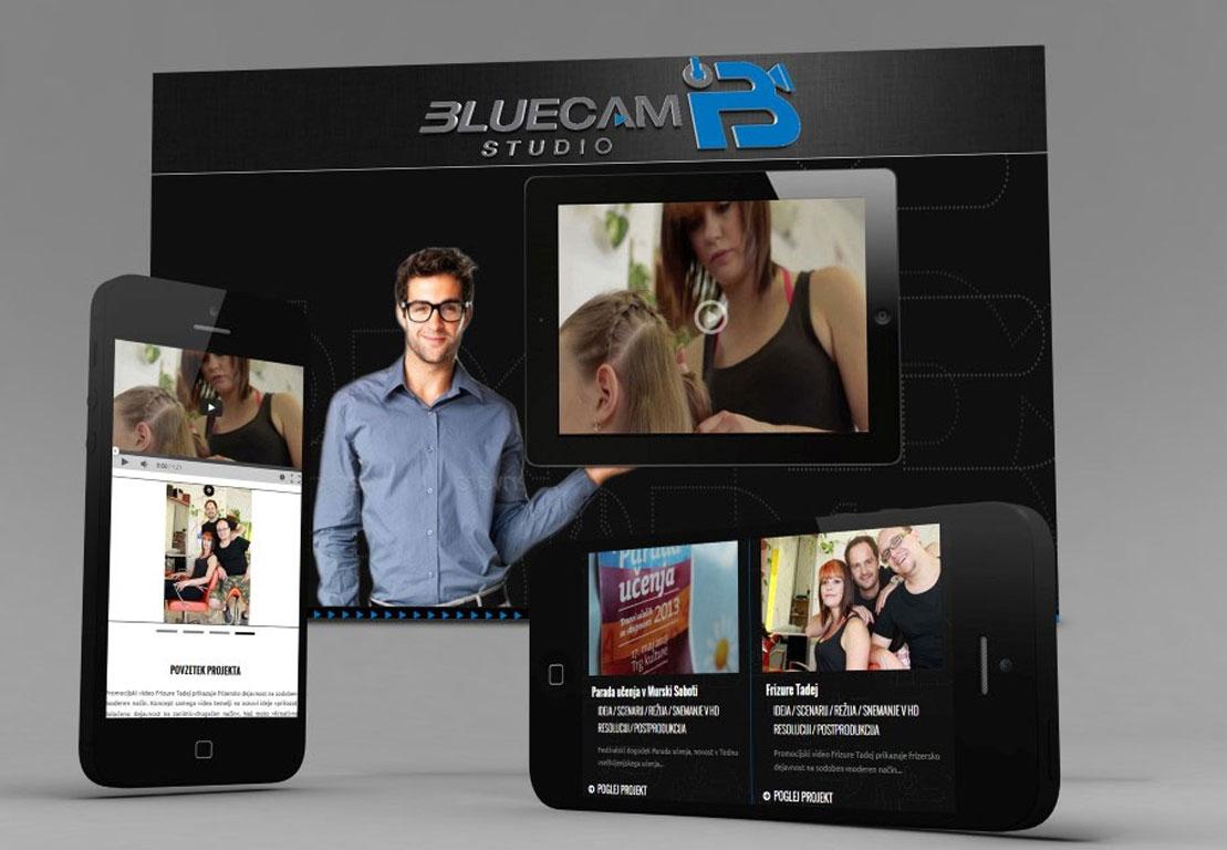spletna stran bluecamstudio
