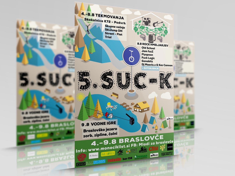 Oblikovanje reklamnega materiala suc-k